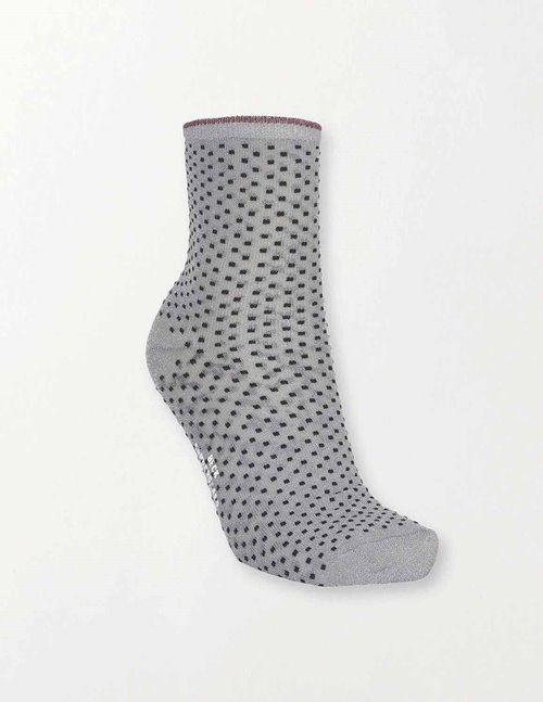 Becksondergaard dina small dots socks - grey