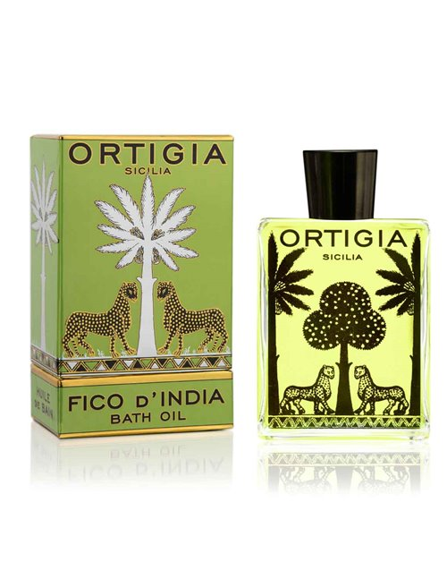 Ortigia fico d'india bath oil 200ml