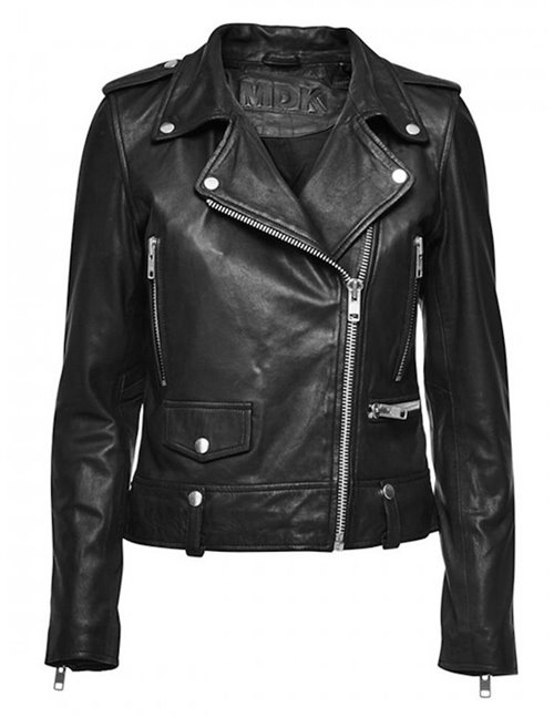 MDK Seattle Leather Jacket (Black)