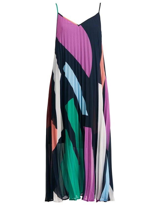 Essentiel Antwerp zague slipdress - multicoloured
