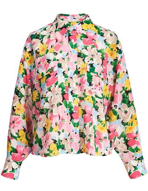 Essentiel Antwerp zunco shirt - pink floral