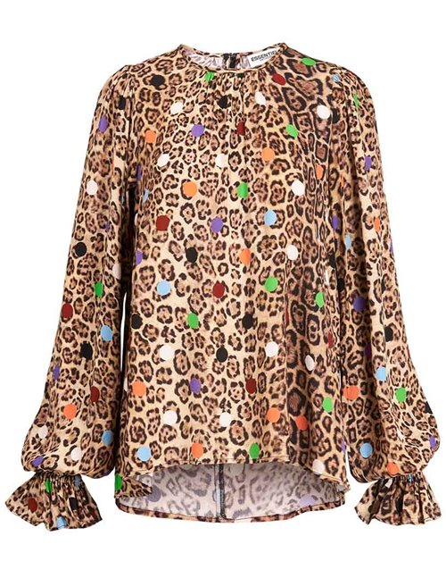 Essentiel Antwerp zover shirt - animal dot