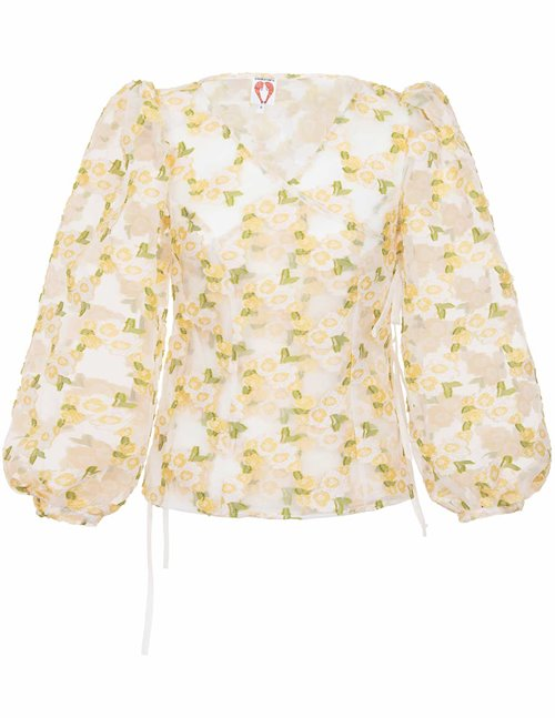 Shrimps cordelia top - yellow flowers