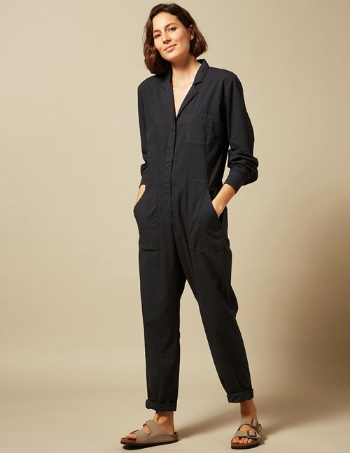 Hartford pasty jumpsuit - charcoal