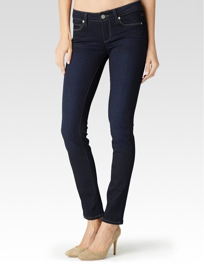 Paige hoxton ultra skinny jeans - mona dark blue