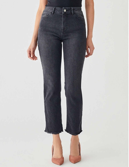 mara ankle jeans - bouverie grey