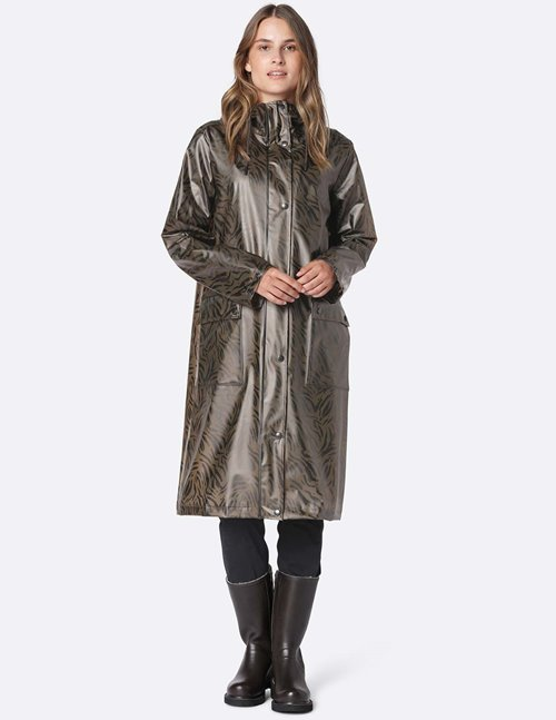 Ilse Jacobsen raincoat - walnut
