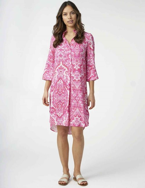Dea Kudibal kamille dress - pink paisley