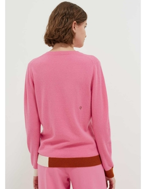 cambridge cashmere sweater - pink side