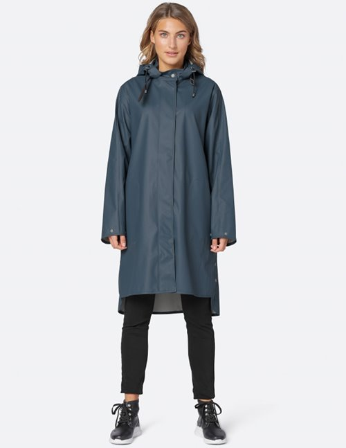 Ilse Jacobsen raincoat - orion blue