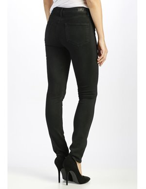 Paige hoxton ultra skinny jeans - black shadow back