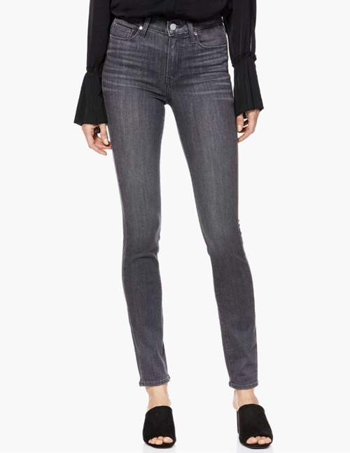 Paige hoxton ankle skinny jeans - grey peaks