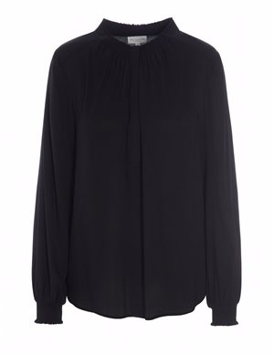 Dea Kudibal faith silk tunic top - black