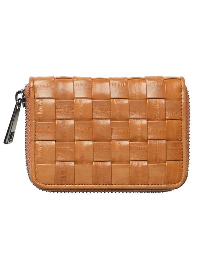 braidy purse - camel