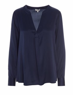 Dea Kudibal santena silk tunic top - navy back