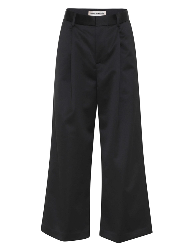 Custommade anelle trousers - anthracite black