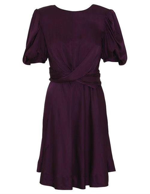 Custommade elana dress - potent purple