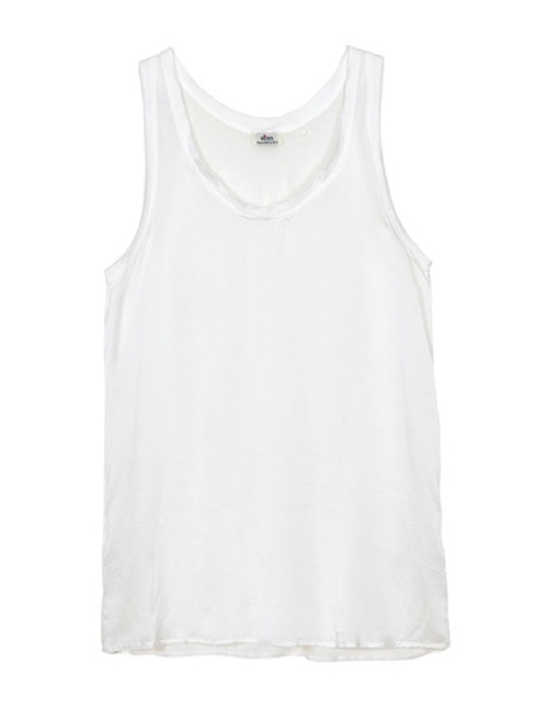 Me369 chloe tank top - white