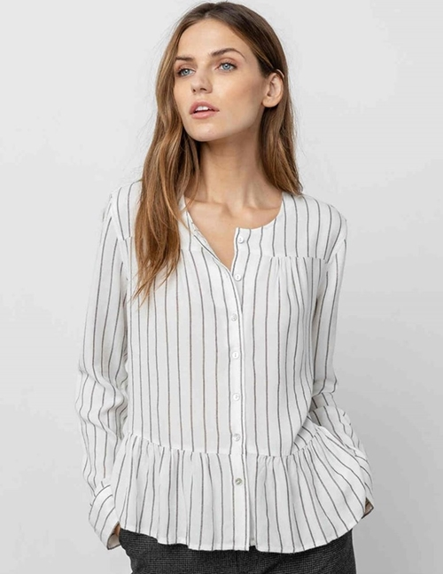Rails ruby shirt - san marino stripe