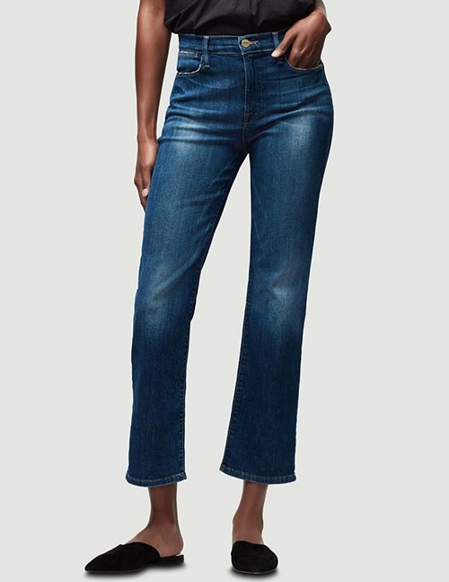 Frame le high straight jeans - york