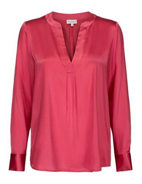 Dea Kudibal santena silk tunic - poppy red