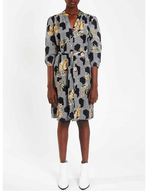 marina shirt dress - futura