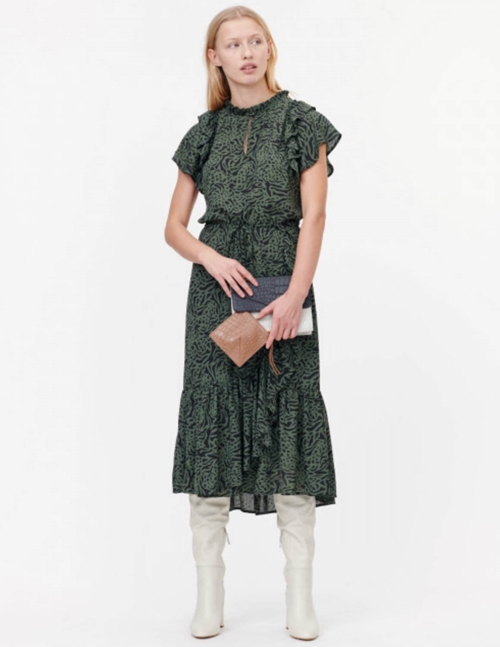 ernie dress - army green