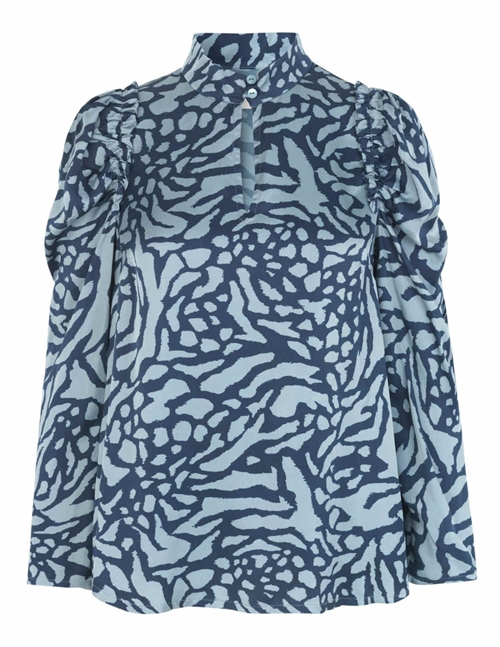 eilan top - blue