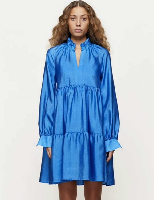 jasmine dress - electric blue