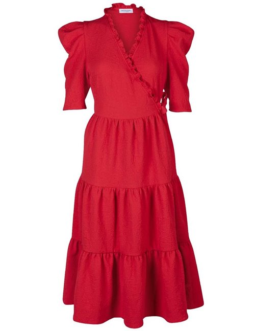 ciara dress - fiery red