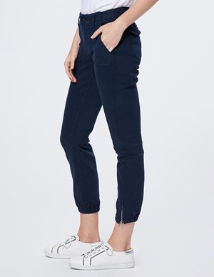 Paige Mayslie Jogger Navy detail