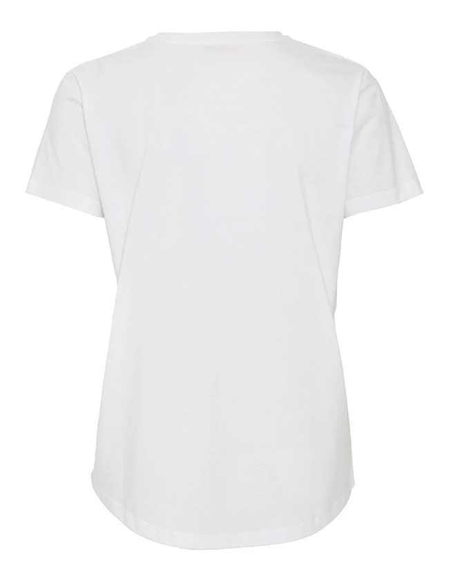 molly organic t-shirt - white back