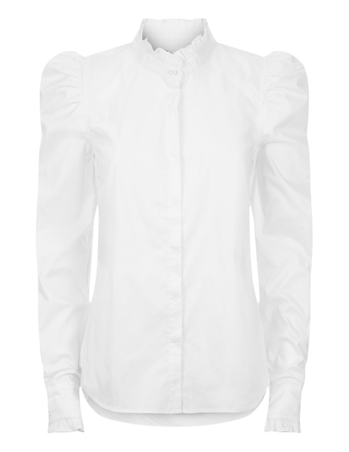 hania blouse - white