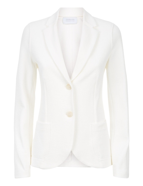 Harris Wharf London canvas jacket - off - white