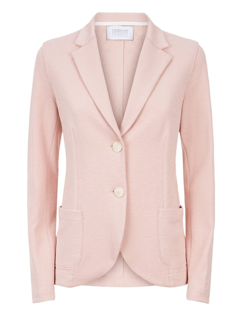Harris Wharf London canvas jacket - rose pink