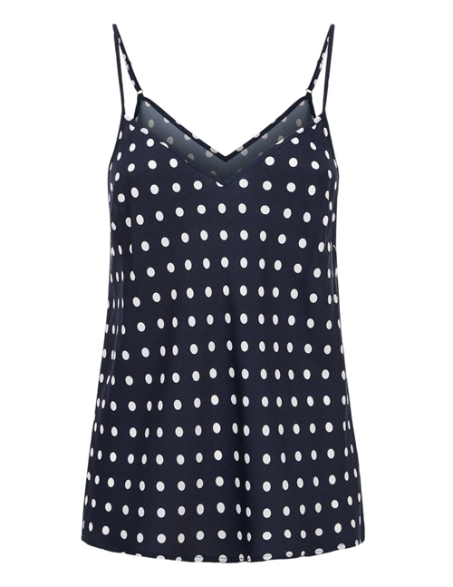 Essentiel Antwerp Var Cami Top (Blue Polkadots)