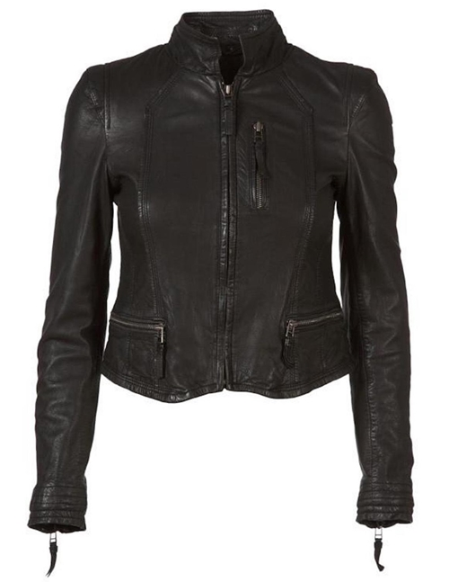 MDK Rucy Leather Jacket (Black)