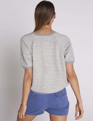 birkin sweatshirt - heather grey back