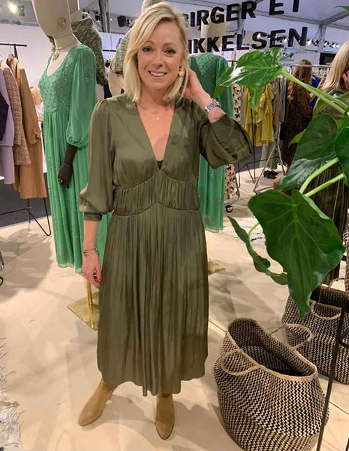 Day Birger et Mikkelsen Day Lake Dress (Soldier Green)