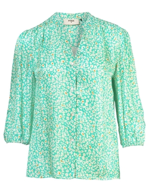Pyrus solace blouse - new animal spearmint back