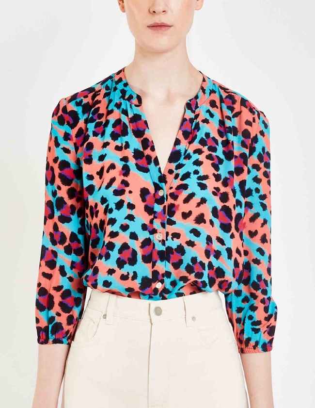 solace blouse - litmus animal