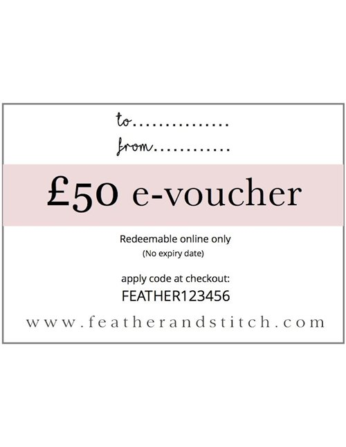 E-voucher online only