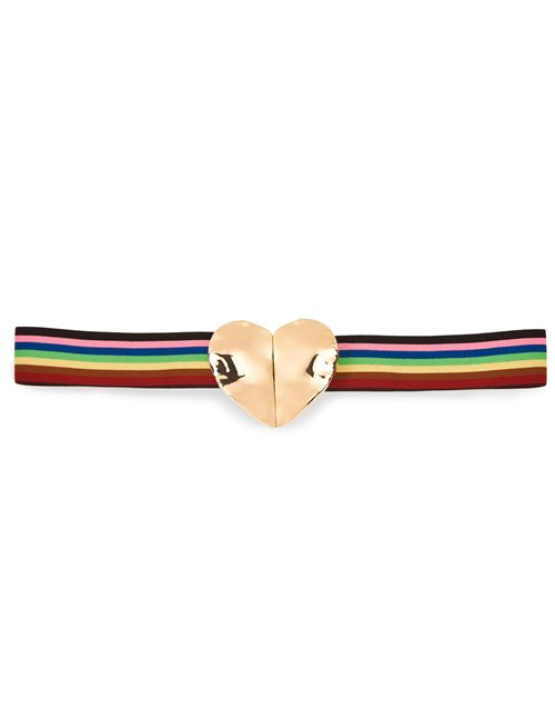 Essentiel Antwerp Whimsical Heart Belt (Multicoloured)