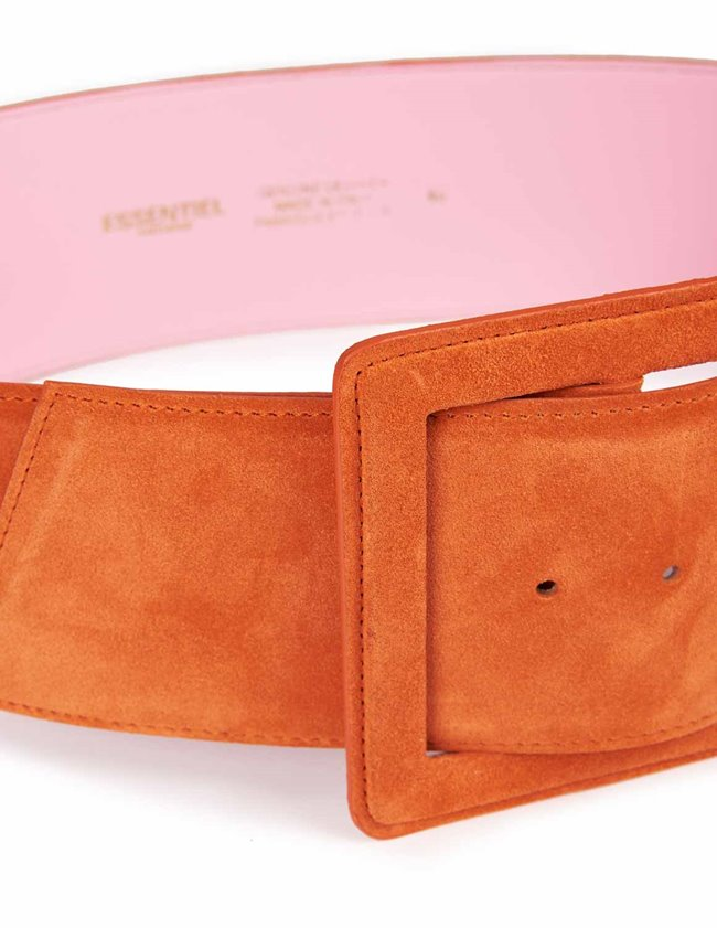 Essentiel Antwerp Weiner Belt (Peach) back