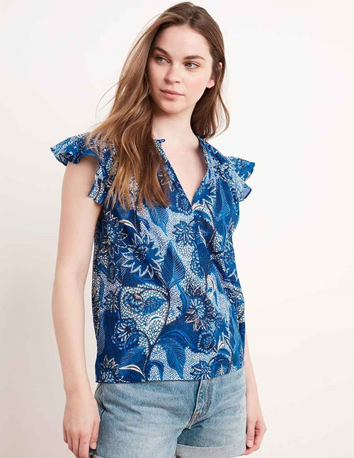 yuelle04 top - blue