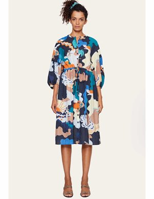 Stine Goya india sustainable dress - landscape