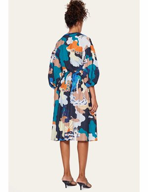 Stine Goya india sustainable dress - landscape side