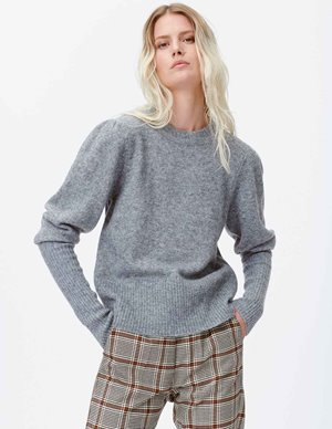 Munthe lot knit - grey