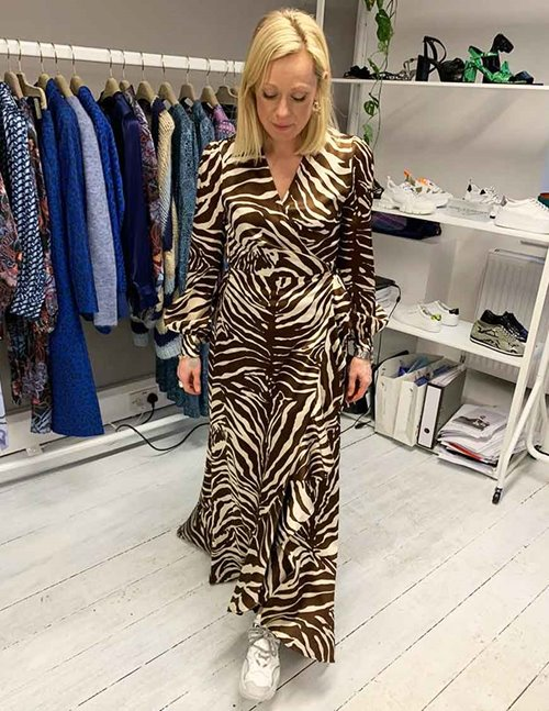 Dea Kudibal vivian dress - zebra