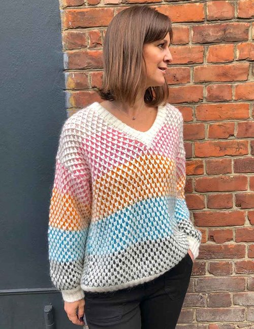 Stine Goya jodi knit - multicolour